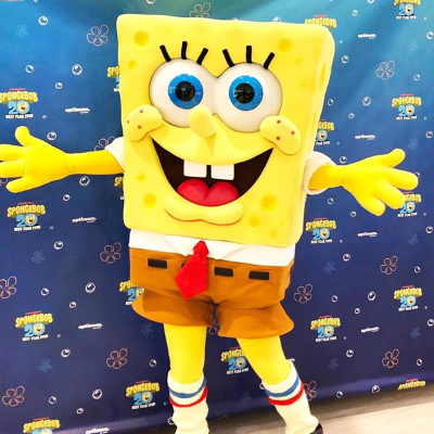 SpongeBob SquarePants left his pineapple under the sea for a weekend full of 20th anniversary fun! Complete with meet & greets, activities, and snacks.