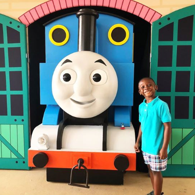 A little rain didn't stop fans from having a wonderful Family Sunday at the Kannapolis Ballpark with Thomas the Tank Engine last week!