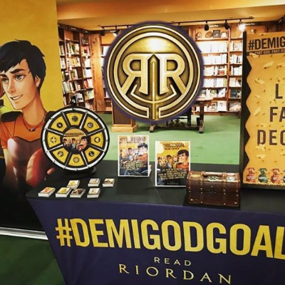 That's a wrap on #DemigodGoals events this summer! Fans came from all over the country to test their demigod skills through a variety of activities ⚡️